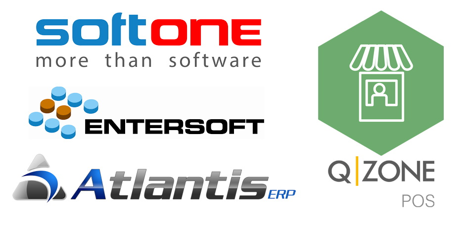 Softone ERP, Entersoft, Atlantis, Qzone